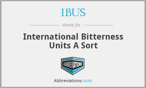 What does IBUS stand for?