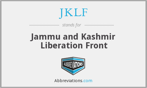 JKLF - Jammu and Kashmir Liberation Front