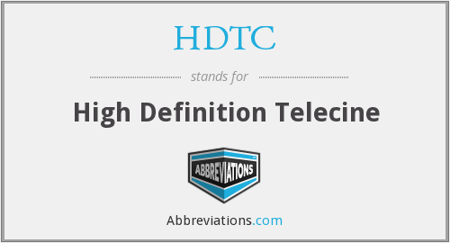 What does HDTC stand for?