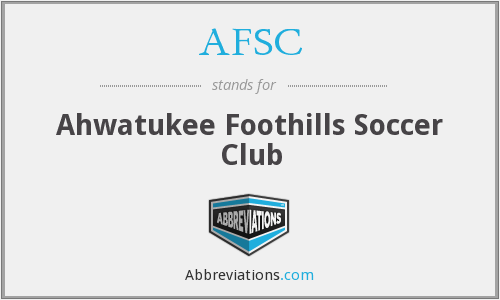 AFSC - Ahwatukee Foothills Soccer Club