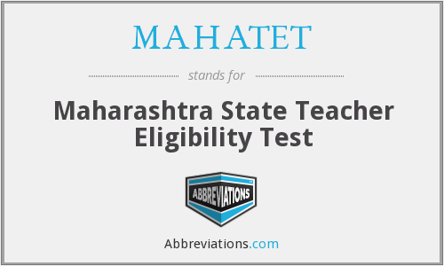 What does MAHATET stand for?