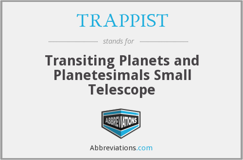 What does TRAPPIST stand for?