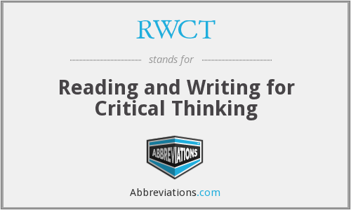 What does RWCT stand for?