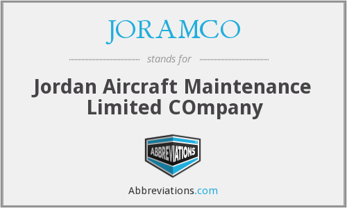 What does JORAMCO stand for?