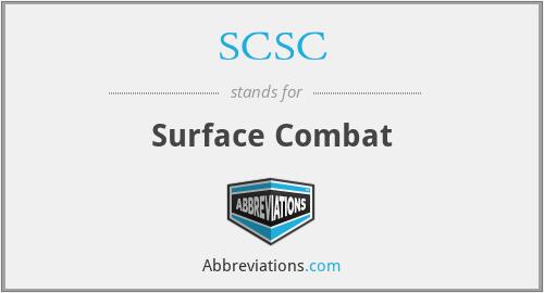 SCSC - Surface Combat