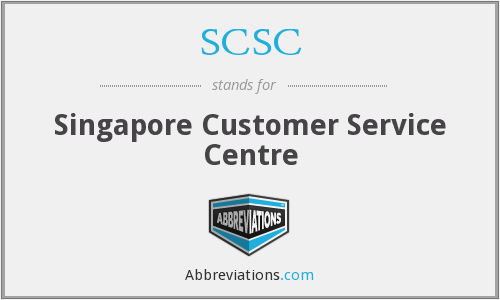 SCSC - Singapore Customer Service Centre
