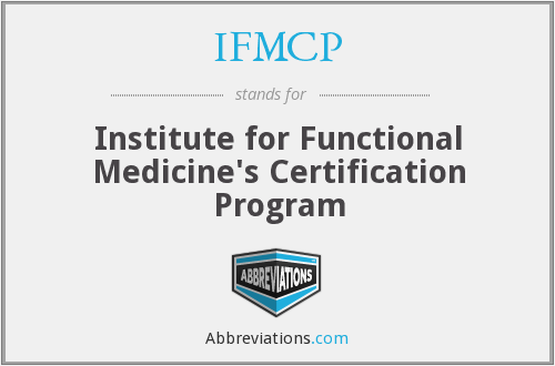 What does IFMCP stand for?
