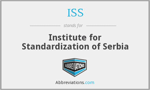 ISS - Institute for Standardization of Serbia