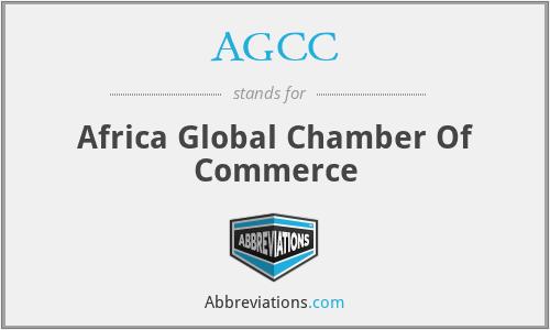 AGCC - Africa Global Chamber Of Commerce