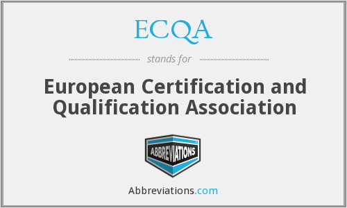 What does ECQA stand for?