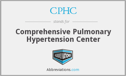 CPHC - Comprehensive Pulmonary Hypertension Center