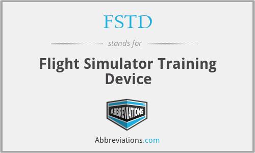FSTD - Flight Simulator Training Device
