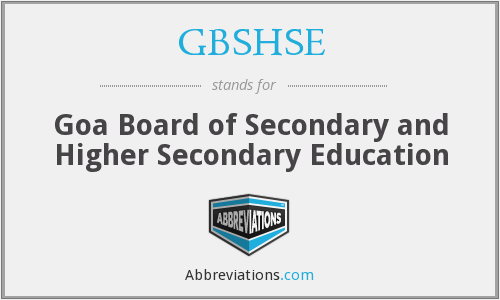 What does GBSHSE stand for?