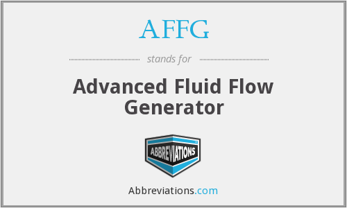 What does AFFG stand for?