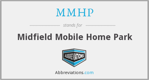 What does MMHP stand for?