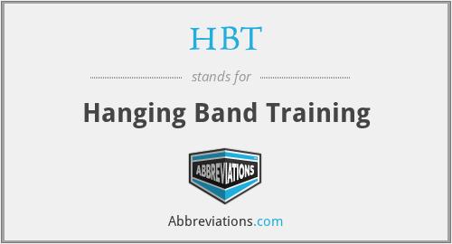 HBT - Hanging Band Training