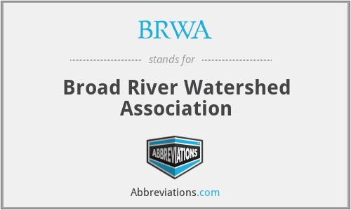 BRWA - Broad River Watershed Association