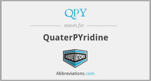 QPY - QuaterPYridine