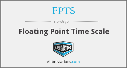 FPTS - Floating Point Time Scale