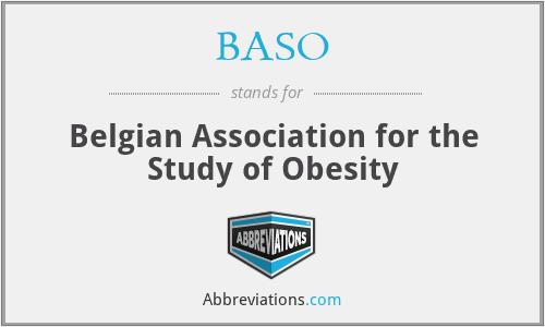 BASO - Belgian Association for the Study of Obesity