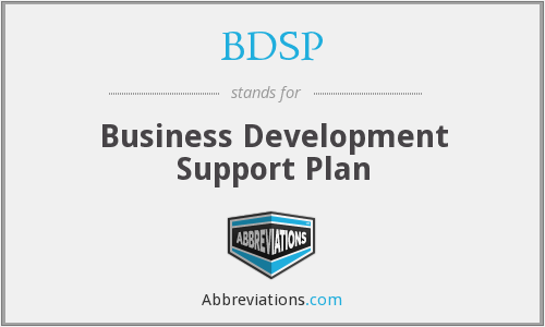 What does BDSP stand for?