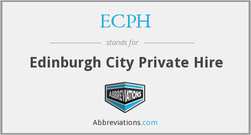 What does ECPH stand for?