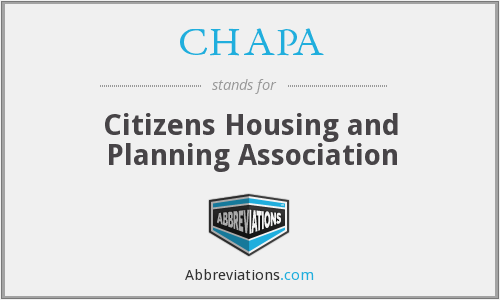 CHAPA - Citizens Housing and Planning Association