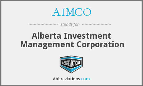 What does AIMCO stand for?
