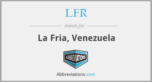 LFR - La Fria, Venezuela