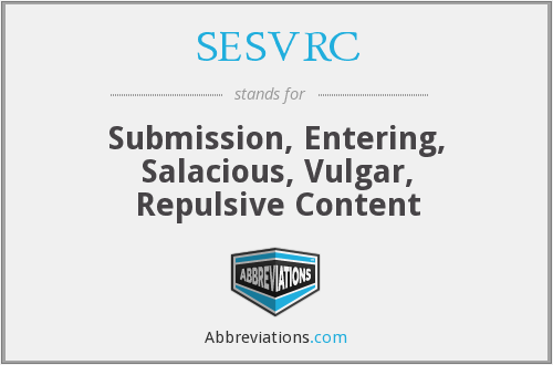 What does SESVRC stand for?