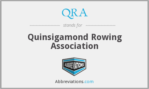 QRA - Quinsigamond Rowing Association
