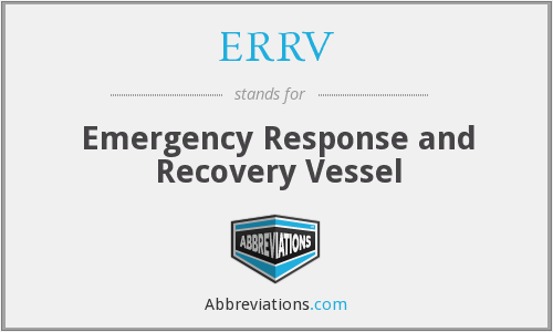 ERRV - Emergency Response and Recovery Vessel
