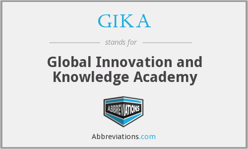 What does GIKA stand for?