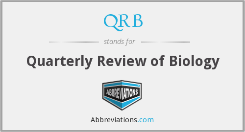 QRB - Quarterly Review of Biology