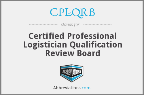 What does CPL-QRB stand for?