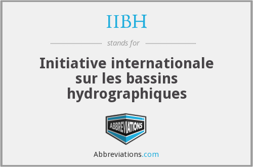 What does IIBH stand for?