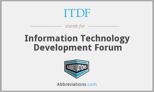 What does ITDF stand for?