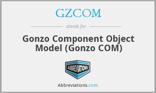 What does GZCOM stand for?
