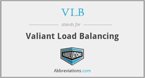 VLB - Valiant Load Balancing