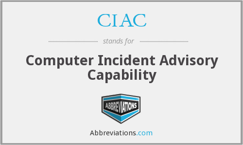 What does CIAC stand for?