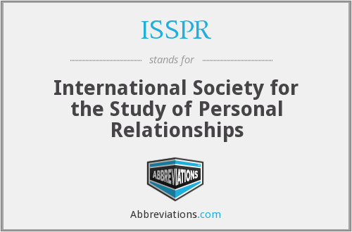 What does ISSPR stand for?