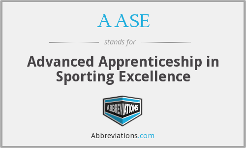 AASE - Advanced Apprenticeship in Sporting Excellence