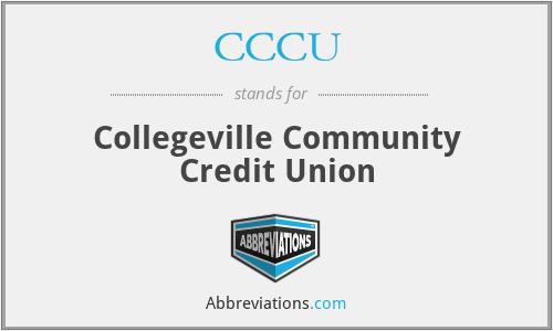 CCCU - Collegeville Community Credit Union