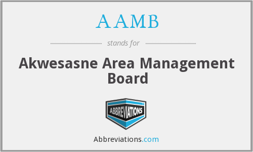 AAMB - Akwesasne Area Management Board