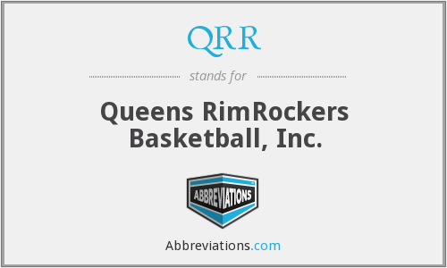 QRR - Queens RimRockers Basketball, Inc.