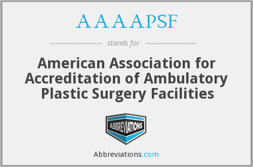 What does AAAAPSF stand for?