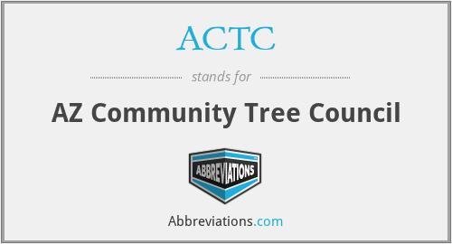 ACTC - AZ Community Tree Council