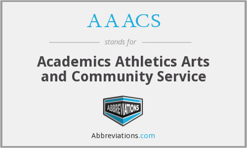 What does AAACS stand for?