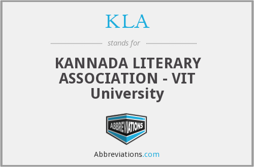 KLA - KANNADA LITERARY ASSOCIATION - VIT University
