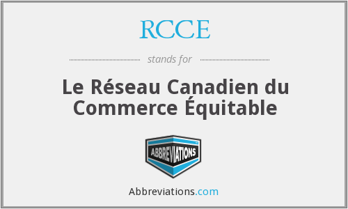 What does RCCE stand for?